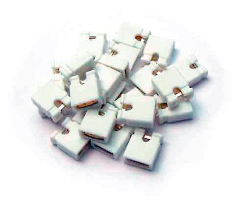 A high quality Image of Bittree 382811-0 Audio Programming Shunts (White Grounding)
