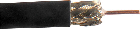 Belden 1506A RG59/U Plenum 20 AWG SDI Coax Cable 500FT Black