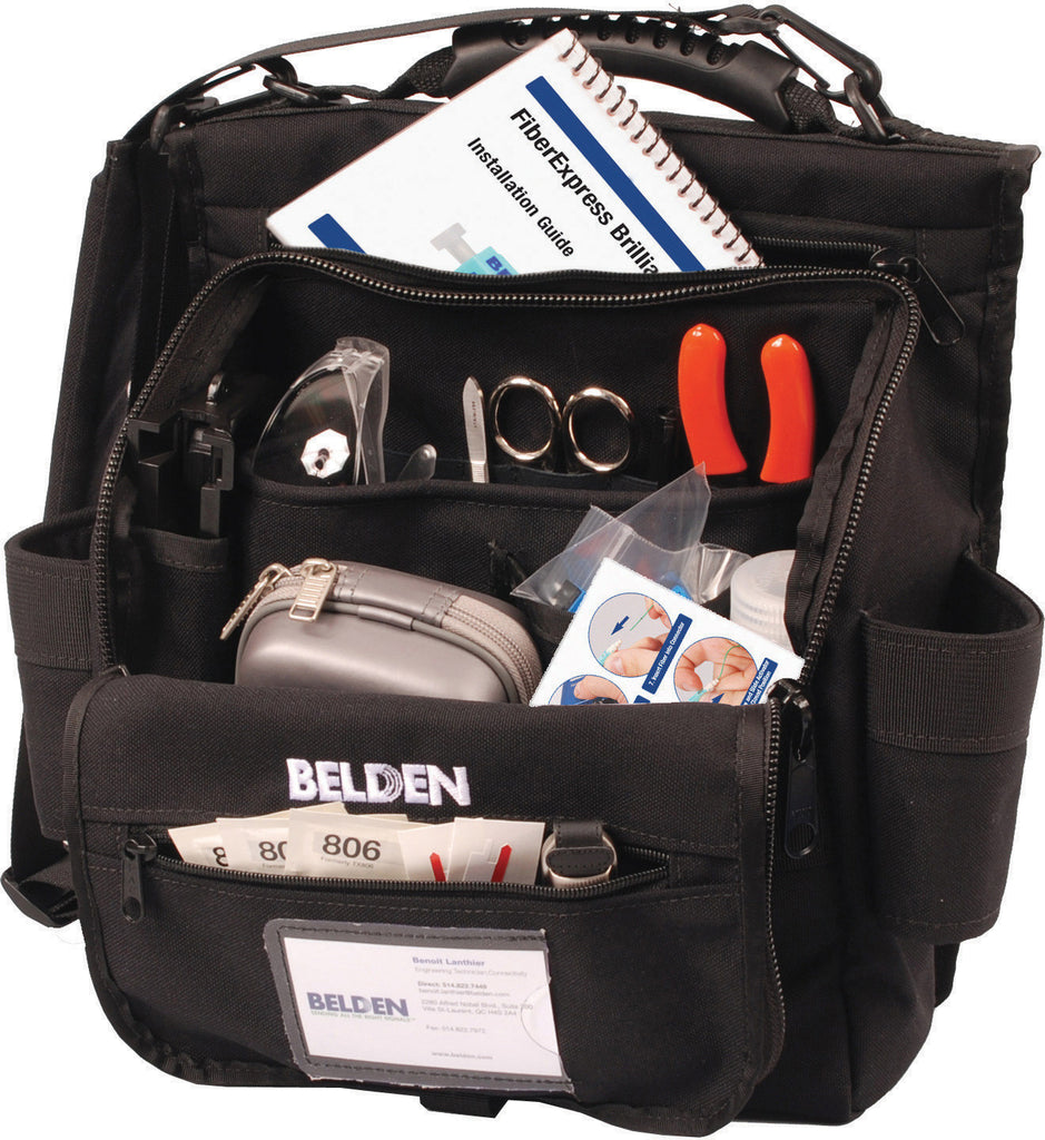 A high quality Image of Belden AX104270 FiberExpress Brilliance Field Kit