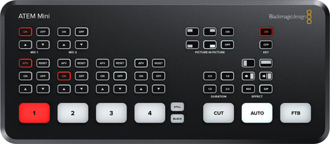 A high quality Image of Blackmagic Design BMD-SWATEMMINI ATEM Mini HDMI Live Production Switcher