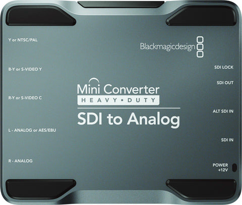 Blackmagic CONVMH/DUTYASA Mini Converter Heavy Duty SDI to Analog