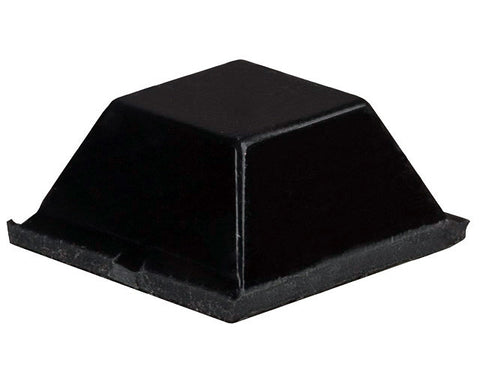 A high quality Image of 1/2IN Black Rubber Bumpon