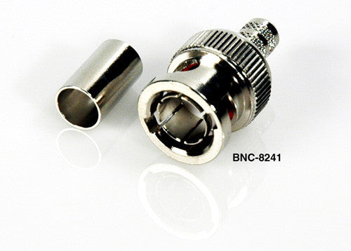 Connectronics 75 Ohm BNC Fits Belden 8218 1407B Gepco RGB250
