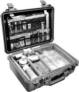 Pelican Case w/ Movable Dividers Black