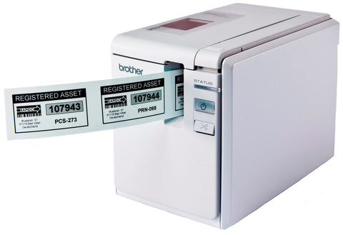 A high quality Image of Brother PT 9700PC Desktop Barcode and Laminated Label Printer