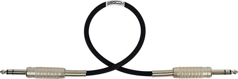 "Belden Star-Quad Audio Cable 1/4"" TRS Balanced Male to Male 1.5FT (Multiple Colors)"