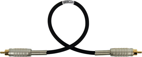 Belden Star-Quad Audio Cable RCA Male to Male 15FT (Multiple Colors)