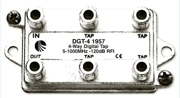 Blonder Tongue DGT-4 Digital Ready Directional Tap - 4 Output - 14 dB
