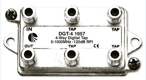 A high quality Image of Blonder Tongue DGT-4 Digital Ready Directional Tap - 4 Output - 10 dB
