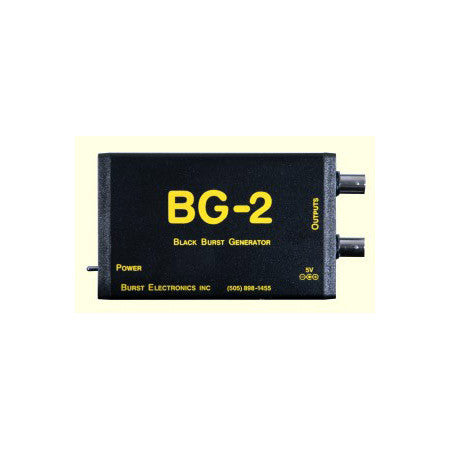 Burst BG-2CB Balanced Mini-XLR Dual Output Blackburst Generator with Color Bars
