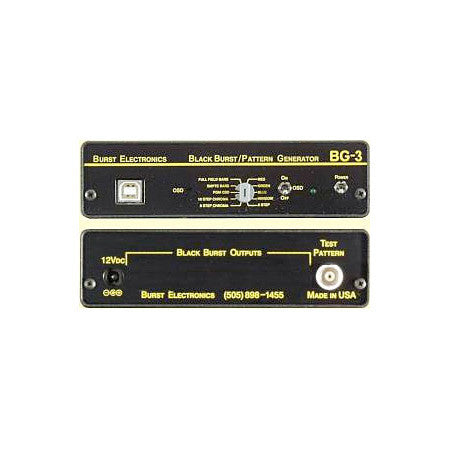Burst BG-7 Blackburst Generator with USB Title Generator & Tone-BI option