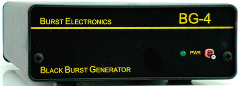 Burst BG-4CB Quad Output Blackburst Generator with Color Bars