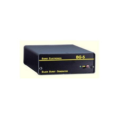 Burst BG-5CB-UNB 5-Output Unbalanced RCA Blackburst Generator with Color Bars