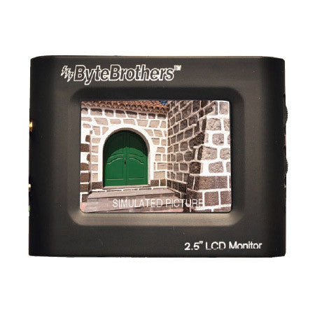 ByteBrothers VTX025 2.5 Inch Color Mini Monitor