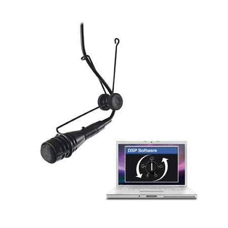 A high quality Image of CAD 2600VP DSP Variable Polar Pattern Hanging Microphone DSP Compatible - Black