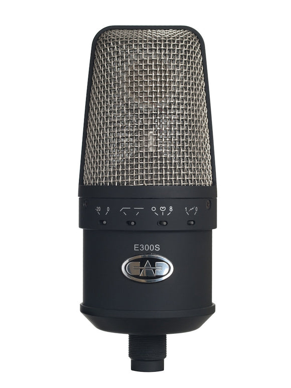 CAD E300S Large Diaphragm Multi-pattern Condenser Microphone