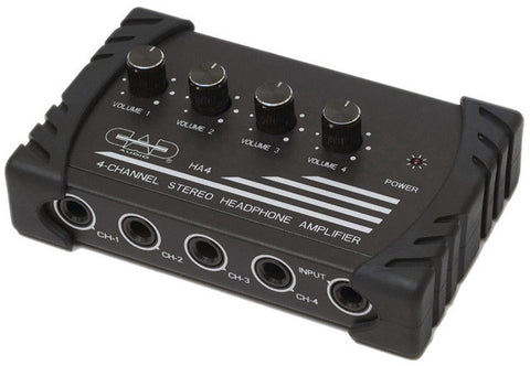 CAD Audio HA4 Four Channel Stereo Headphone Amp