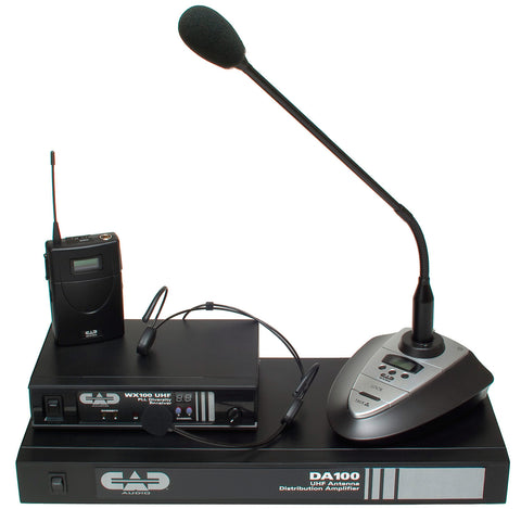 CAD Audio WX100A UHF Wireless Microphone Receiver