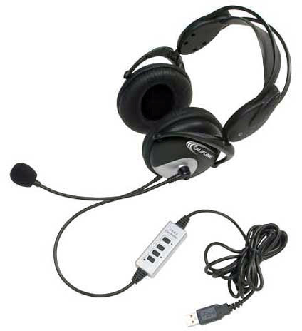 Califone 4100 USB Stereo Headset