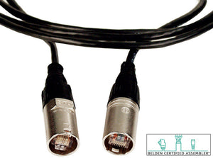 RJ45 Neutrik EtherCON Belden DataTuff CAT5e Cable 225FT