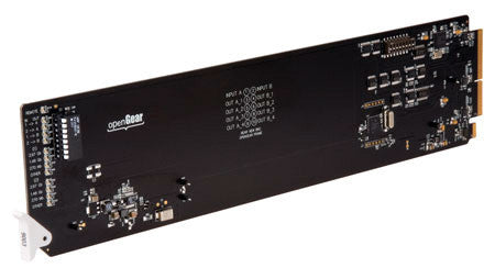 Cobalt RM20-9001-A 8321 Frame Rear I/O Module (Single Slot) HD/SD-SDI Input BNC