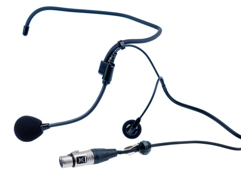 Clear-Com CC-27 Single Ear Wraparound Headset 4pin XLR