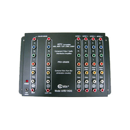 CE Labs AV501HDXI Component Distribution Amplifier