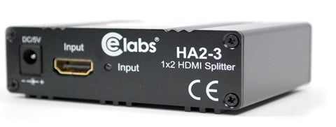 CE Labs HA2-3 1x2 HDMI Splitter