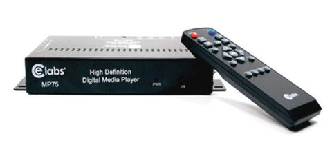 A high quality Image of CE Labs MP75 High Definition Digital Media Player with GPIO
