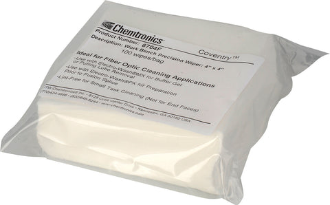 Chemtronics 6704F Econowipes Lint Free Precision Wipes - 100 Pack