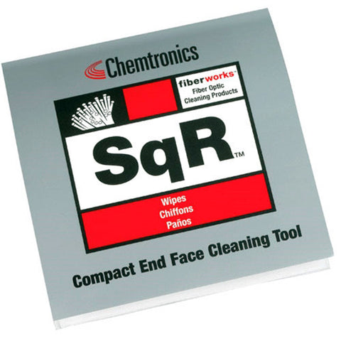 Chemtronics SQR Compact Fiber Optic Cleaning Platform - 10 Pack