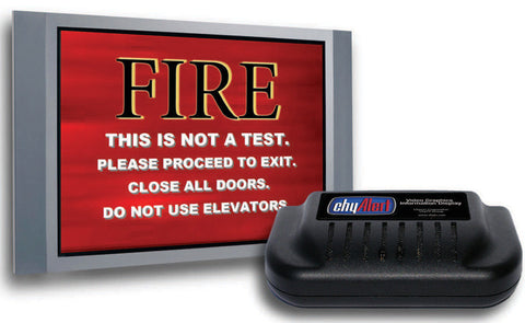 chyTV Chyron ChyAlert-IP2-N Video Alert Display with Ethernet/CE- NTSC