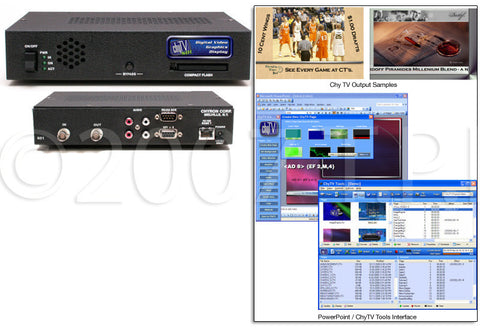 chyTV Chyron SDI Digital Video Graphics Display (NTSC)
