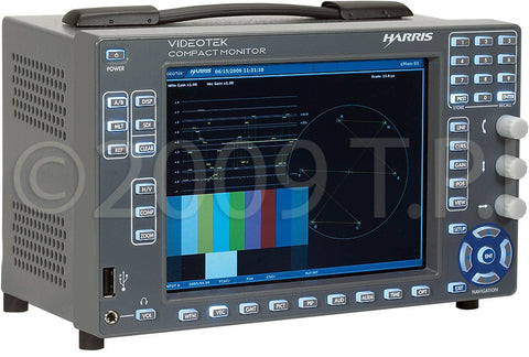 Harris Broadcast Videotek CMN-91 cMon Series Compact Multi-format Signal Analyzer with LCD