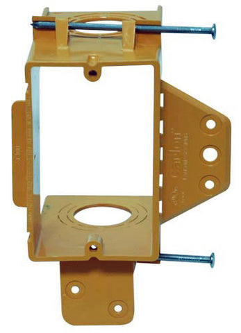 Carlon SC100A Single-Gang Low Voltage New Work Bracket