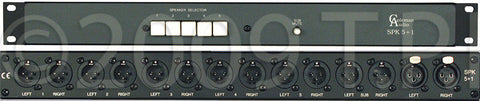 Coleman Audio SPK5+1 Speaker Switcher
