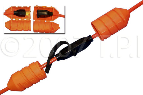 Cord Connect Watertight Cord Lock - OSHA Orange