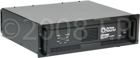 Atlas Sound CP700 High-Performance Dual-Channel Commercial Audio Amplifier