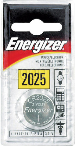 A high quality Image of Energizer ECR-2025BP CR2025 Lithium Button Cell Battery
