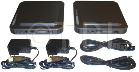 Cabletronix CT-HDMI-WL1.3V Wireless HDMI Transmitter/Receiver Kit
