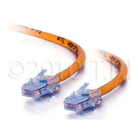 CAT5e 350 MHz Assembled Patch Cable Yellow 35FT