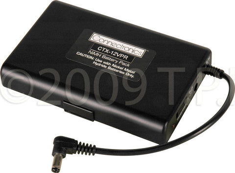A high quality Image of Connectronics 12VDC 2.5AMP Hour Battery Pack With 2.1 Plug