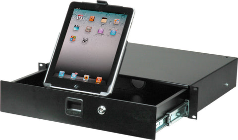 A high quality Image of Connectronics CTX-IPAD Rack Draw for iPad Rackmount 2RU