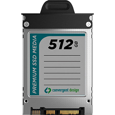 Convergent Design CD-SSD-512GB 512 GB 2.5 Inch SSD for Odyssey 7 & 7Q