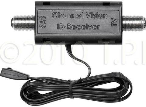 Channel Vision IR-4101 Coax IR Adapter with Built-In IR Receiver