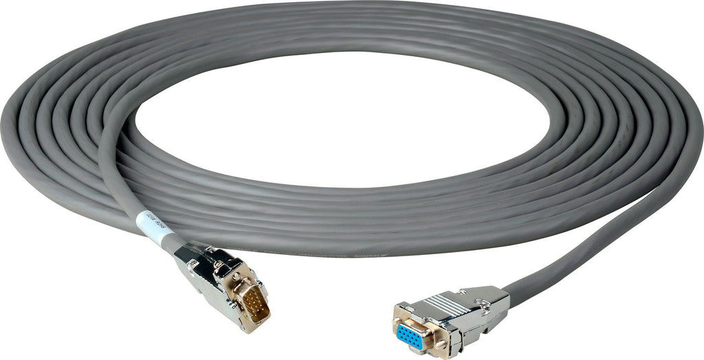 15-Pin Hi-Density Male to Female VGA Cable 3FT