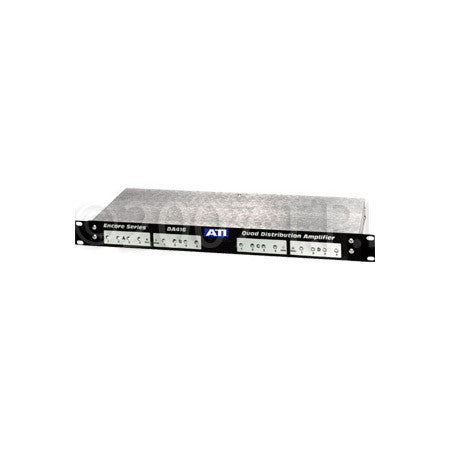 ATI Audio DA416 Quad 1X4 Distribution Amplifier - Clipping Indicator