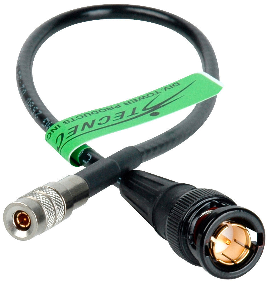 3G SDI DIN1.0/2.3 to BNC Video Adapter Cable with Belden 1855A 10FT
