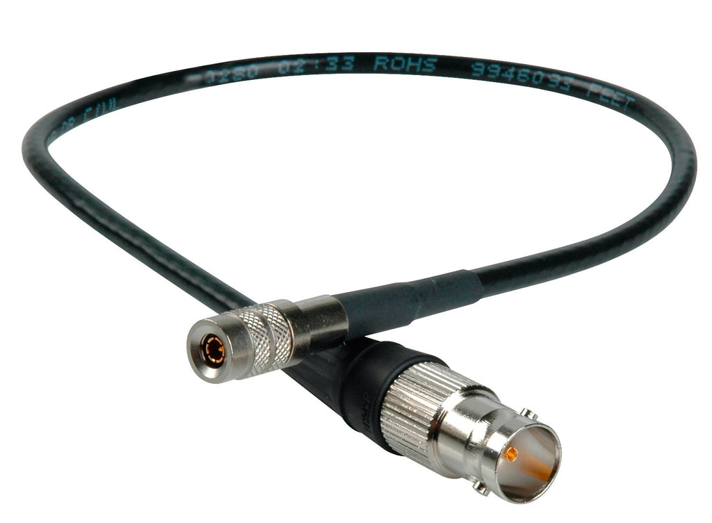 3G SDI DIN1.0/2.3 to BNC-F Video Adapter Cable with Belden 1855A 1FT