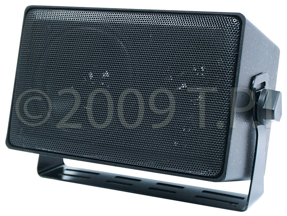 Speco Weather-Resistant 3-Way Speaker with Transformer BLACK